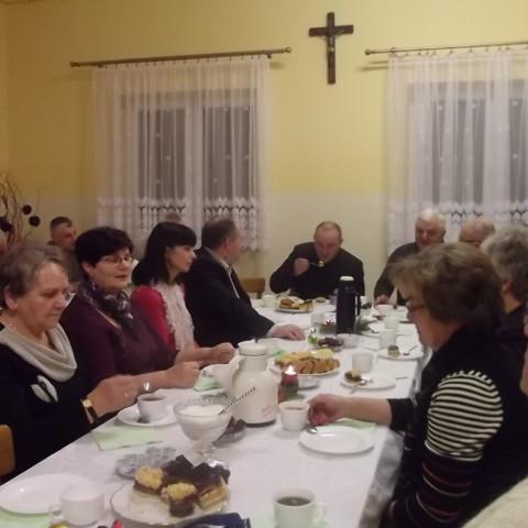 Spotkanie opłatkowe Akcji Katolickiej i Rady Duszpasterskiej 2011